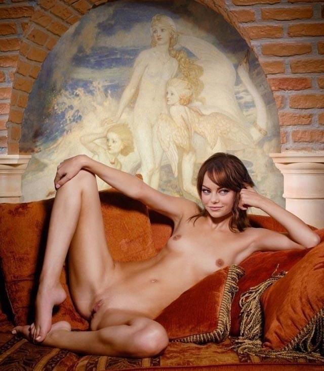 Эмма Стоун голая. Фото - 6