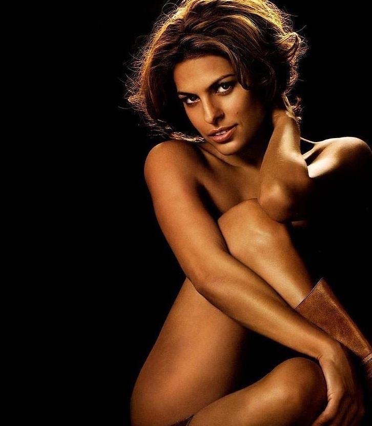 Ева Мендес голая. Фото - 12