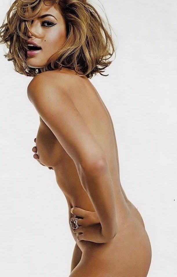 Ева Мендес голая. Фото - 13