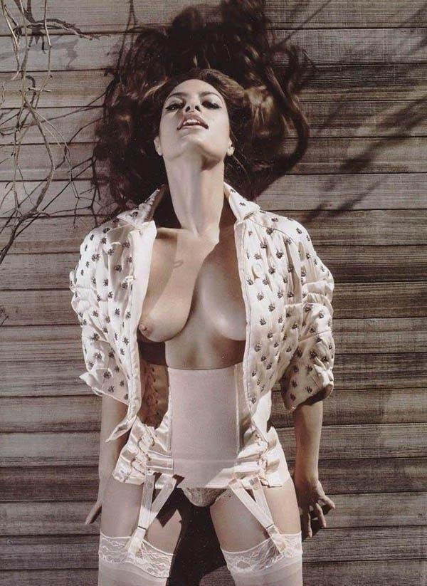 Ева Мендес голая. Фото - 23