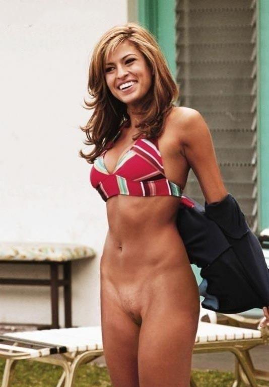 Ева Мендес голая. Фото - 30