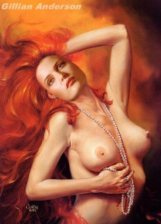 Джиллиан Андерсон голая. Фото - 72