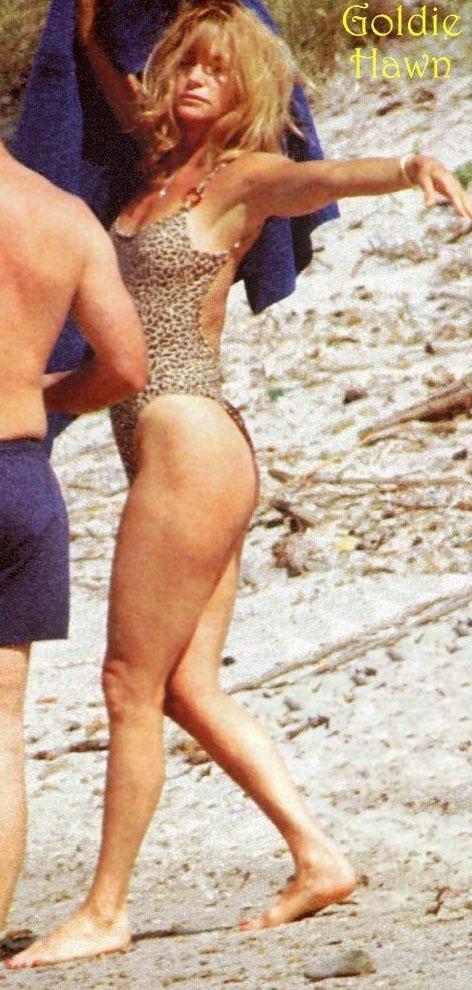 Голди Хоун голая. Фото - 2