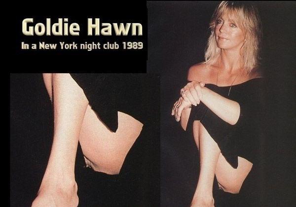Голди Хоун голая. Фото - 9