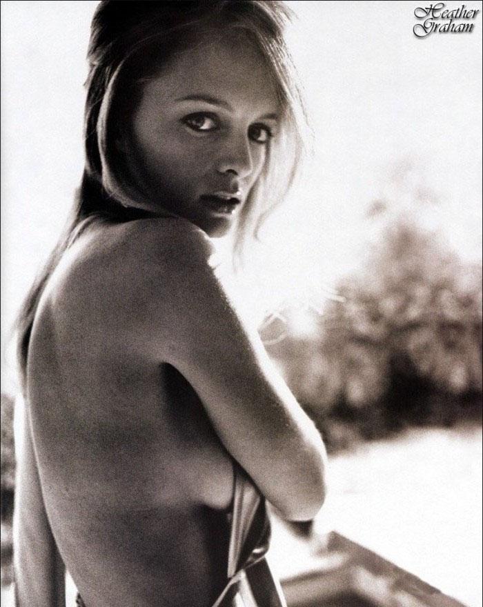 Хизер Грэм голая. Фото - 6