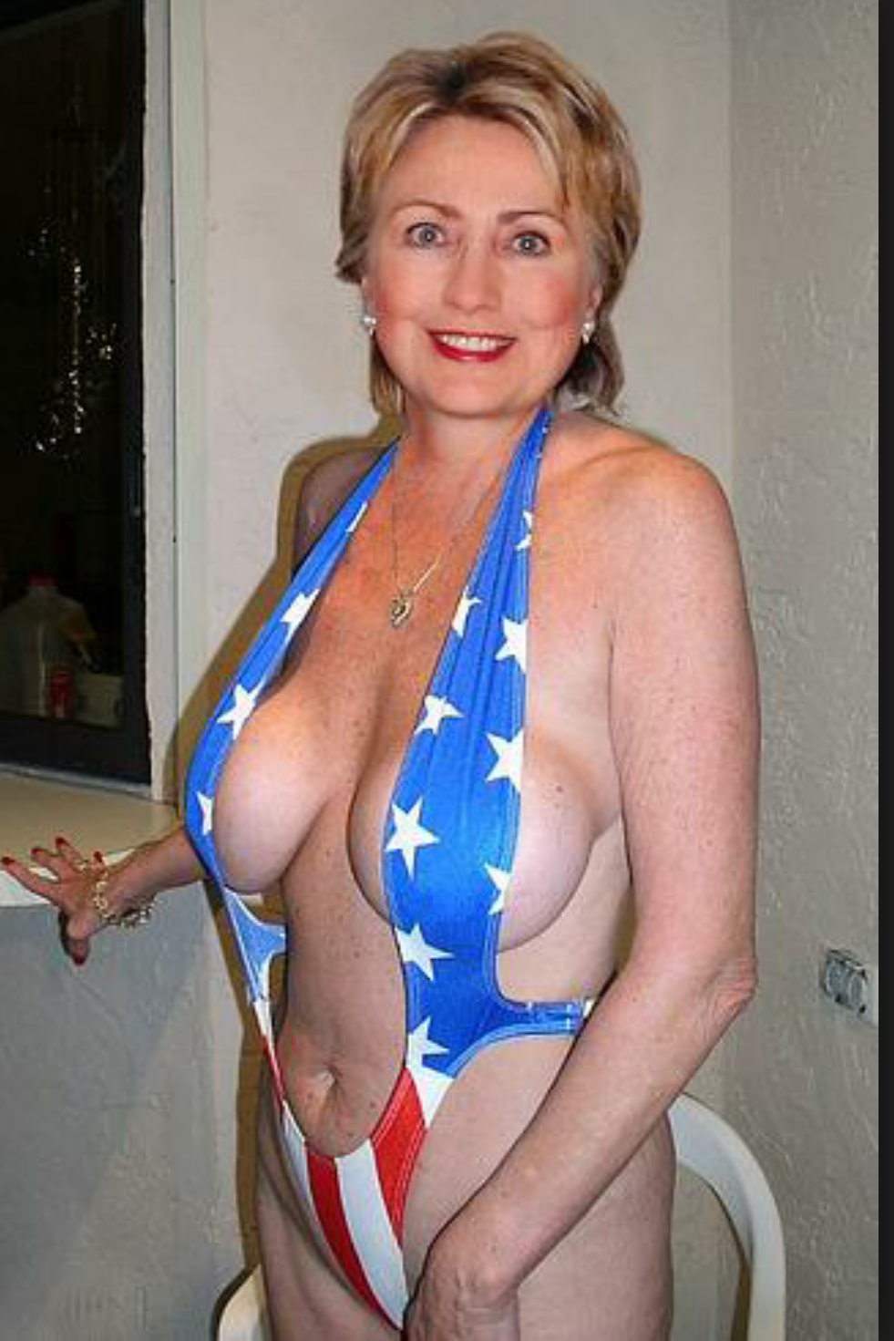 Hillary Clinton nude. Photo - 17