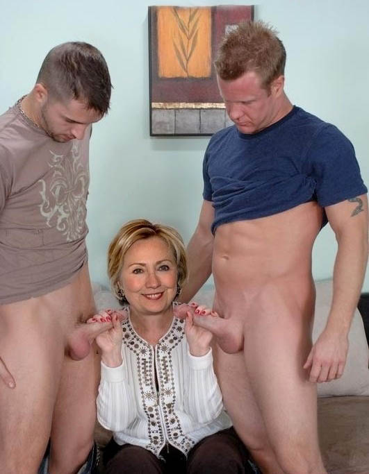 Hillary Clinton nude. Photo - 9