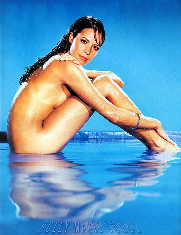 Holly Marie Combs nude. Photo - 5