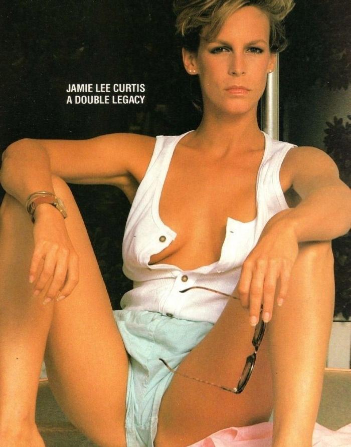 Джейми Ли Кёртис голая. Фото - 11