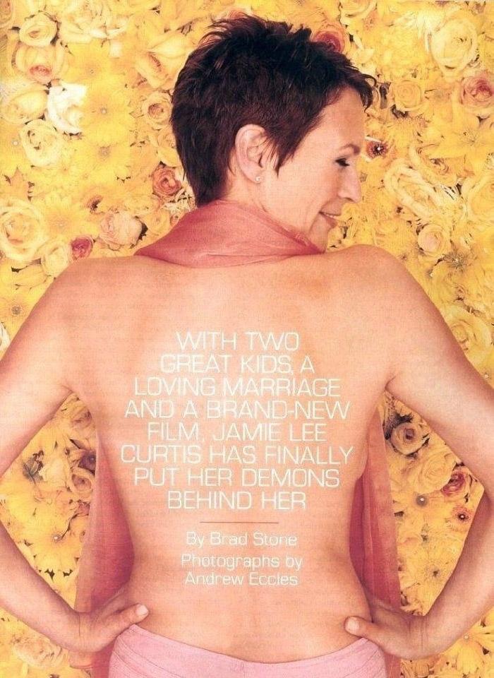 Джейми Ли Кёртис голая. Фото - 26