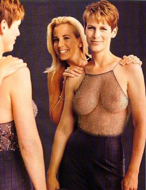 Джейми Ли Кёртис голая. Фото - 7