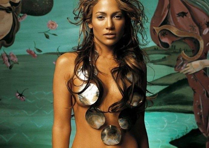 Дженнифер Лопес голая. Фото - 1