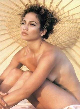 Дженнифер Лопес голая. Фото - 10