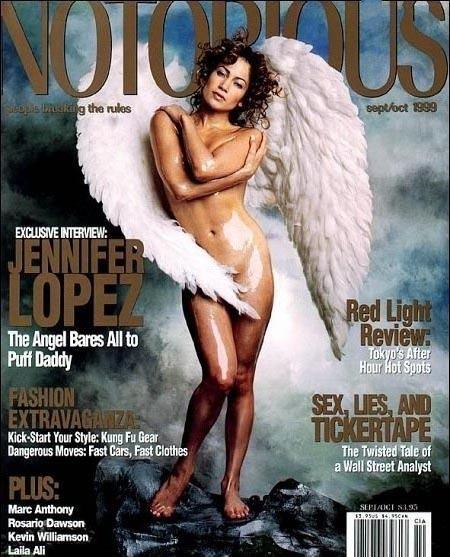 Дженнифер Лопес голая. Фото - 13