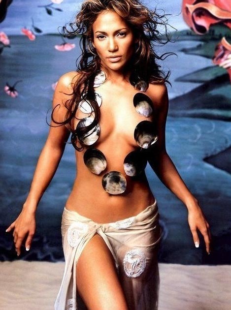 Дженнифер Лопес голая. Фото - 14