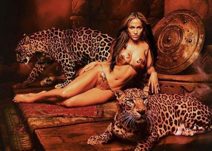 Дженнифер Лопес голая. Фото - 2