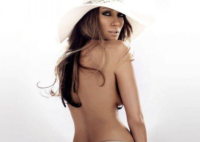 Дженнифер Лопес голая. Фото - 33