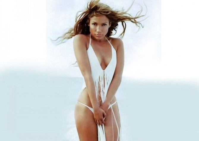 Дженнифер Лопес голая. Фото - 36