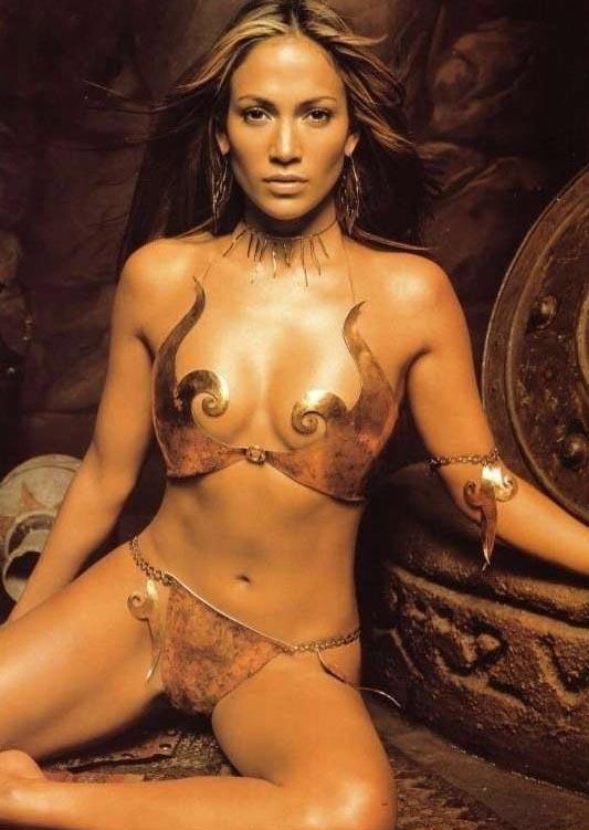 Дженнифер Лопес голая. Фото - 8