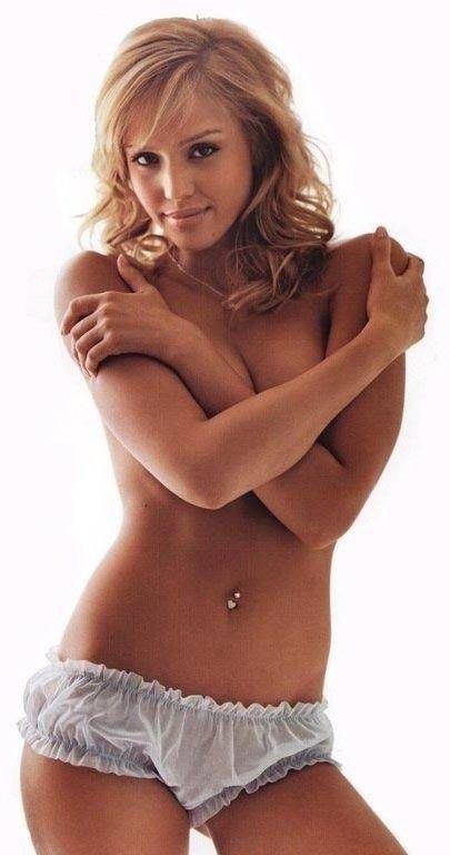 Джессика Альба голая. Фото - 1