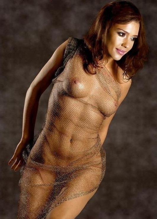 Джессика Альба голая. Фото - 26