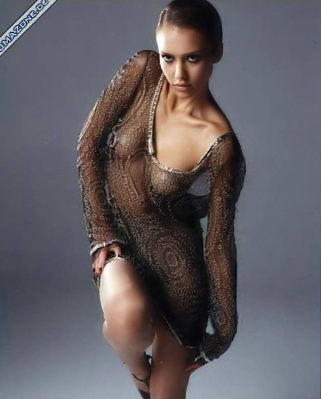 Джессика Альба голая. Фото - 46