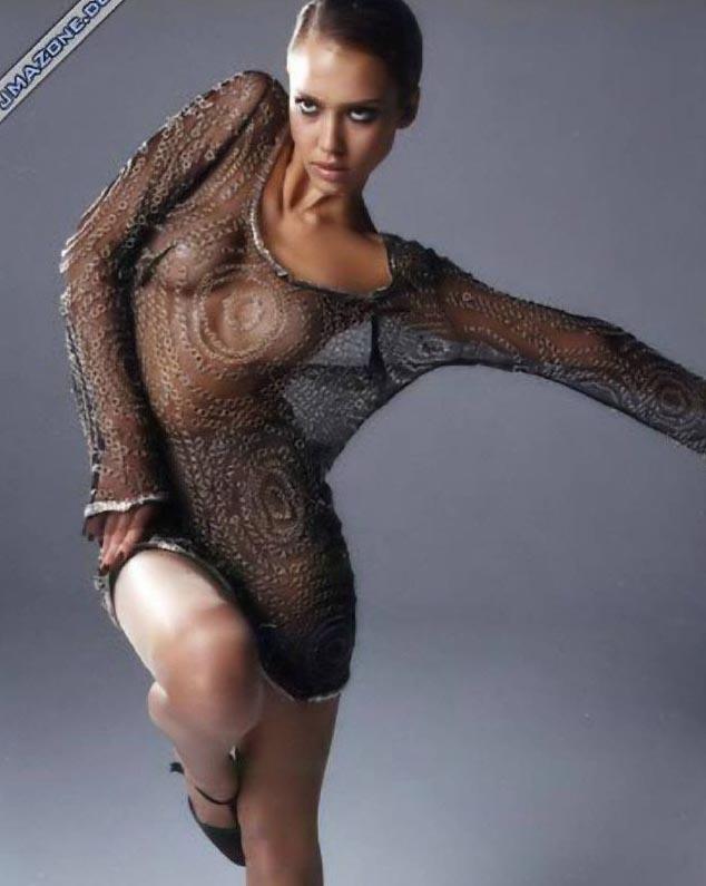 Джессика Альба голая. Фото - 47
