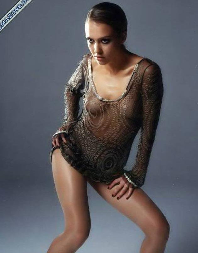 Джессика Альба голая. Фото - 48