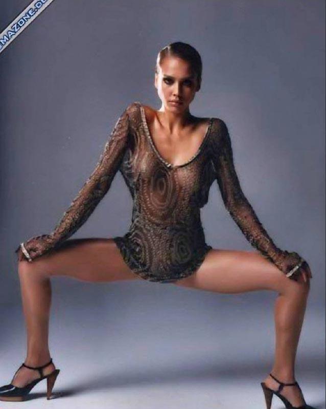 Джессика Альба голая. Фото - 49