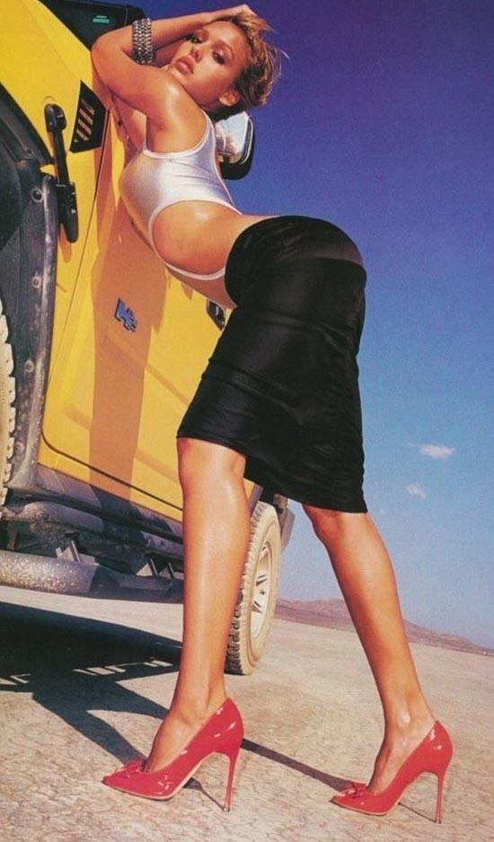 Джессика Альба голая. Фото - 9