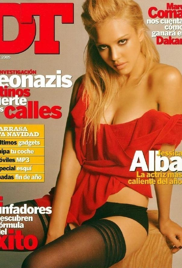 Джессика Альба голая. Фото - 94
