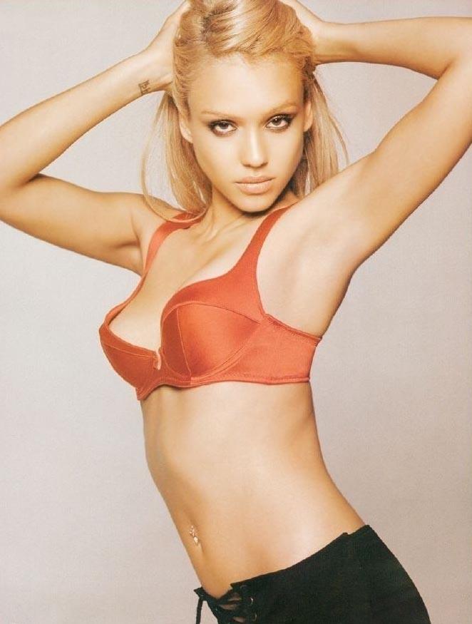 Джессика Альба голая. Фото - 95