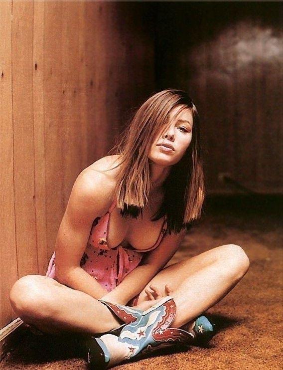 Джессика Бил голая. Фото - 8