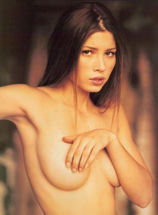 Джессика Бил голая. Фото - 9