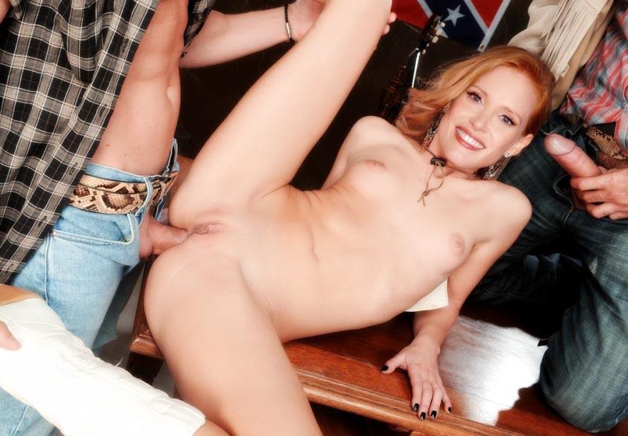 Джессика Честейн голая. Фото - 10