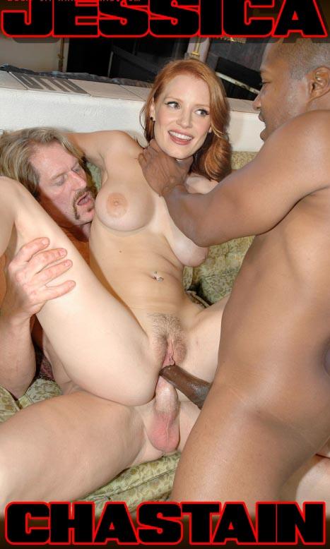 Джессика Честейн голая. Фото - 2