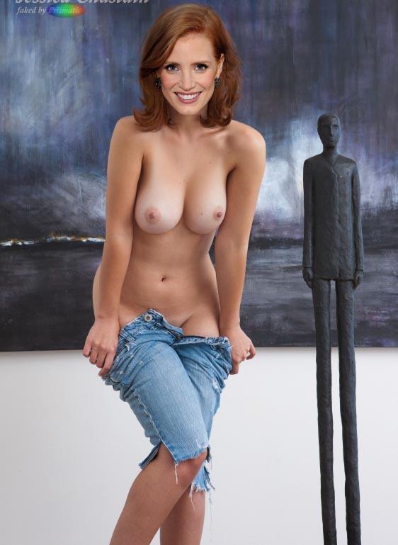 Джессика Честейн голая. Фото - 3