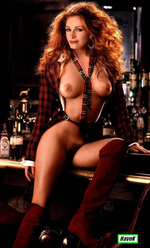 Julia Roberts nahá. Fotka - 30