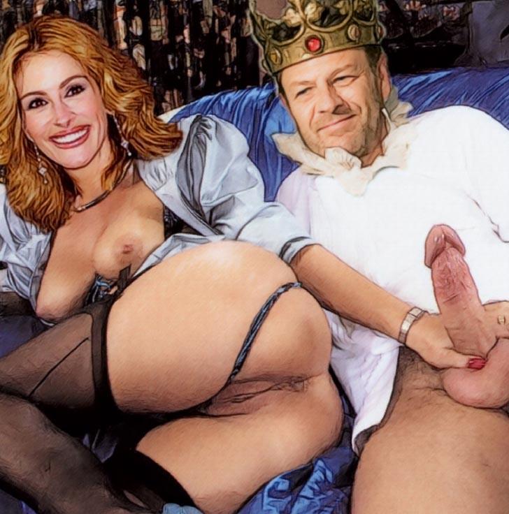 Julia Roberts nahá. Fotka - 67