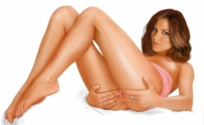 Кэтрин Макфи голая. Фото - 12