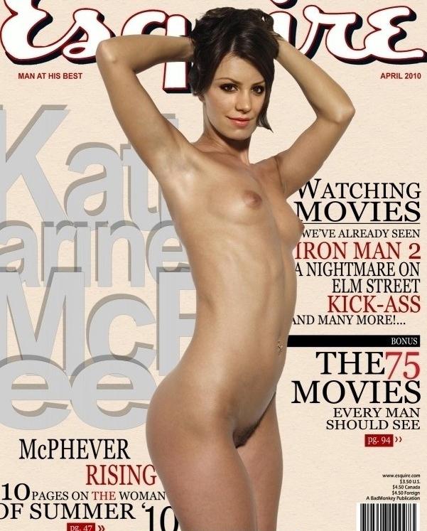 Кэтрин Макфи голая. Фото - 15