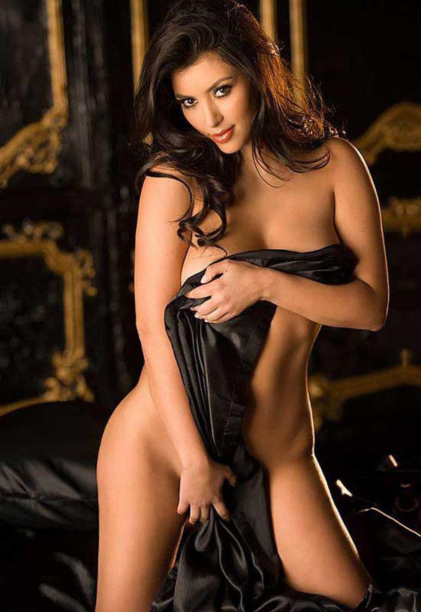 Ким Кардашян голая. Фото - 17