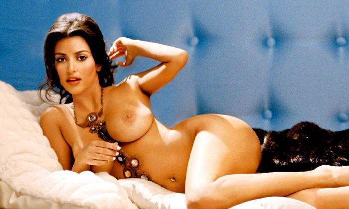 Ким Кардашян голая. Фото - 20