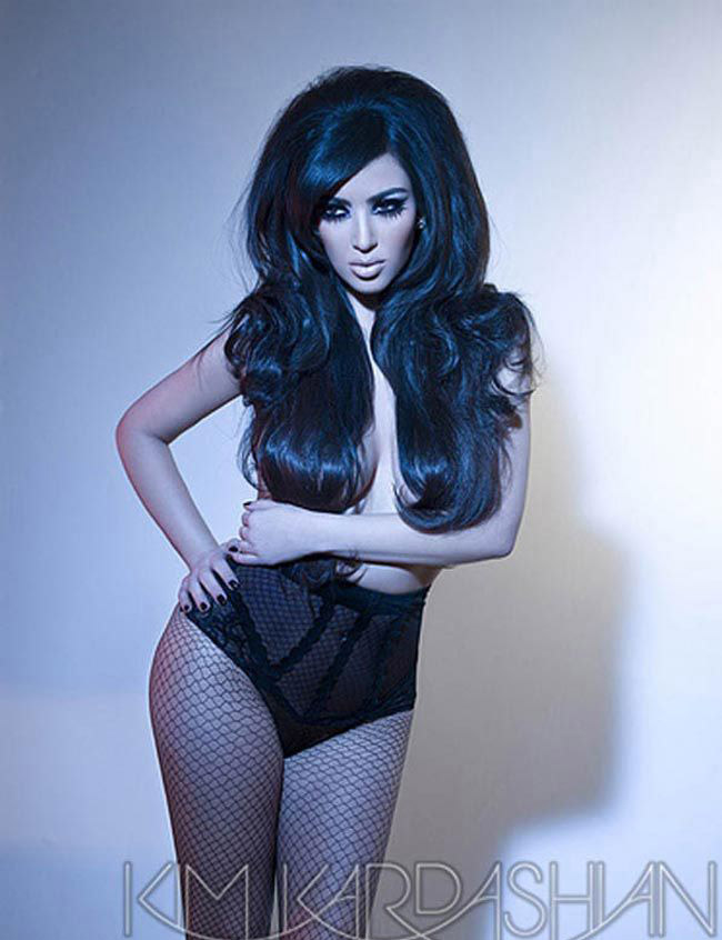 Ким Кардашян голая. Фото - 30