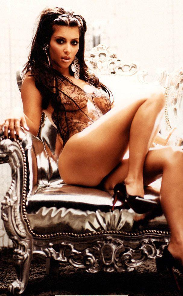 Ким Кардашян голая. Фото - 31