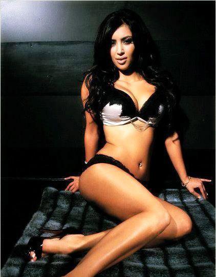 Ким Кардашян голая. Фото - 34