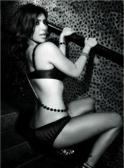 Ким Кардашян голая. Фото - 35
