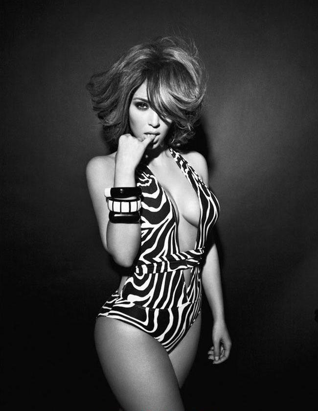 Ким Кардашян голая. Фото - 36