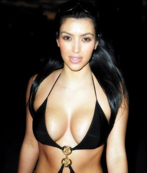 Ким Кардашян голая. Фото - 38