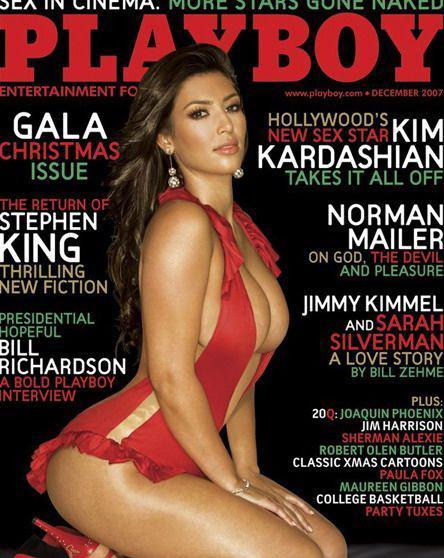 Ким Кардашян голая. Фото - 4
